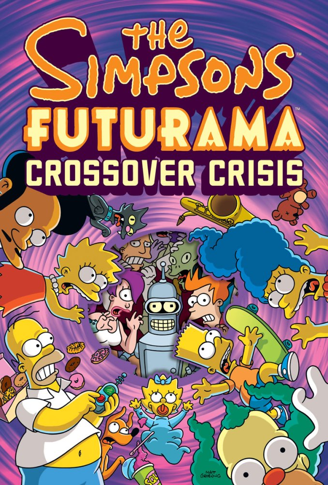 The Simpsons Futurama Crossover Crisis (2010) (1/3)