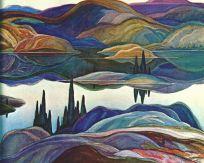 FranklinCarmichael-Mirror-Lake-1929