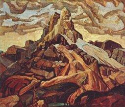 small_ArthurLismer-Cathedral-Mountain-1928