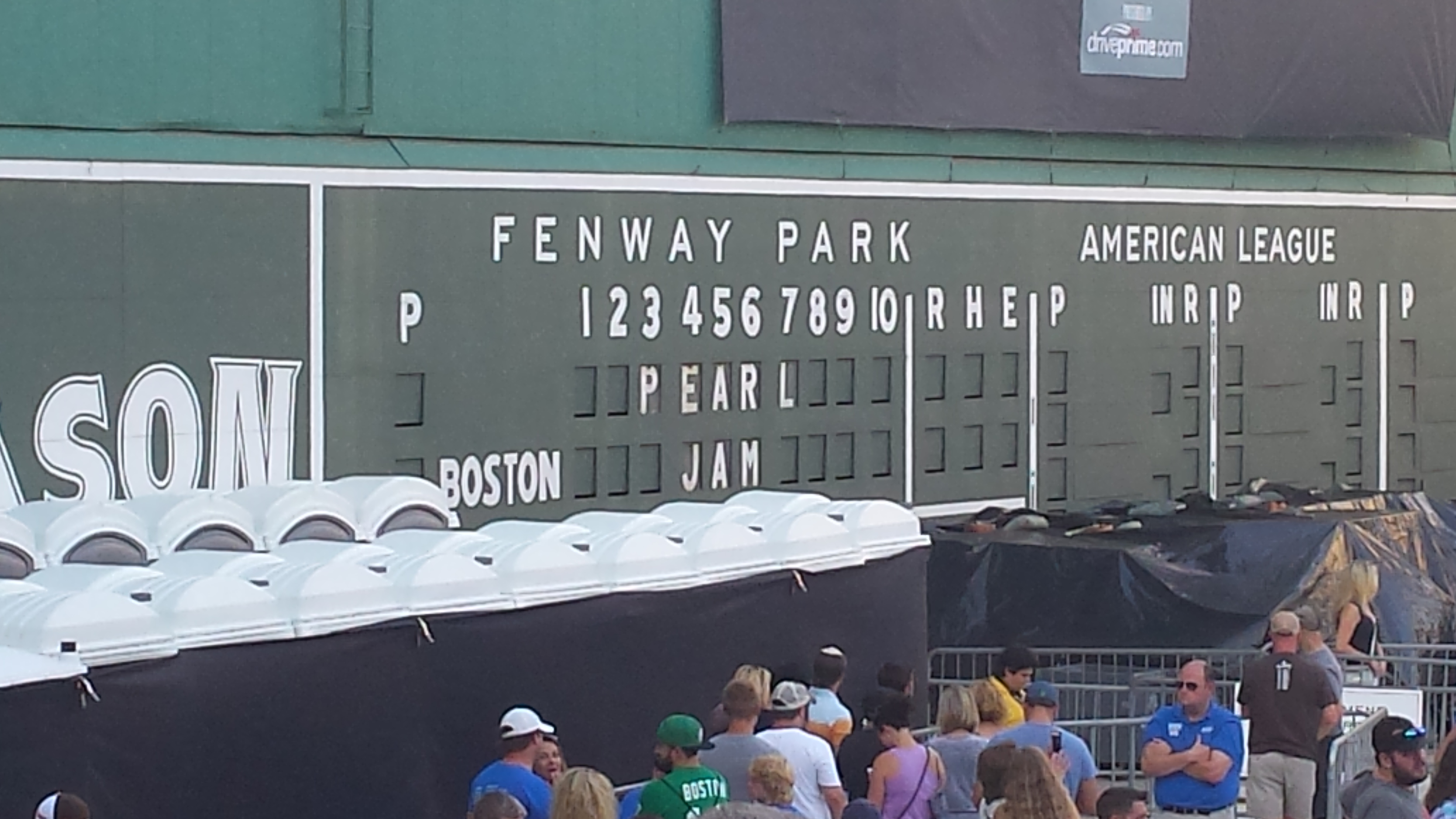 Pearl Jam (Fenway Park, Boston, MA, August 7, 2016 & Ten Club Screening of  August 5 show, House of Blues, Boston, MA, August 6, 2016)