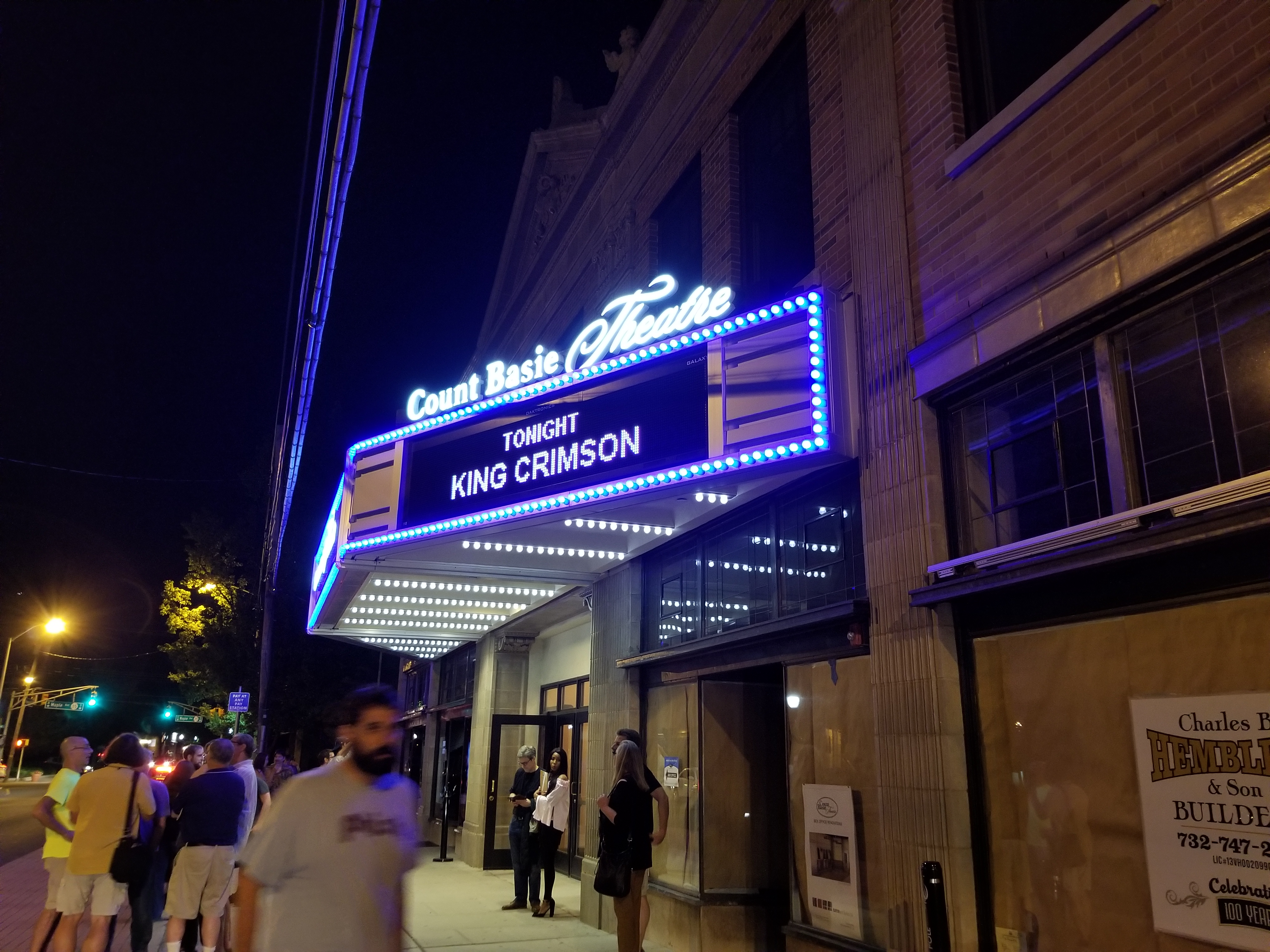 King Crimson (Count Basie Theater, Red Bank, NJ, July 9, 2017) | I ...