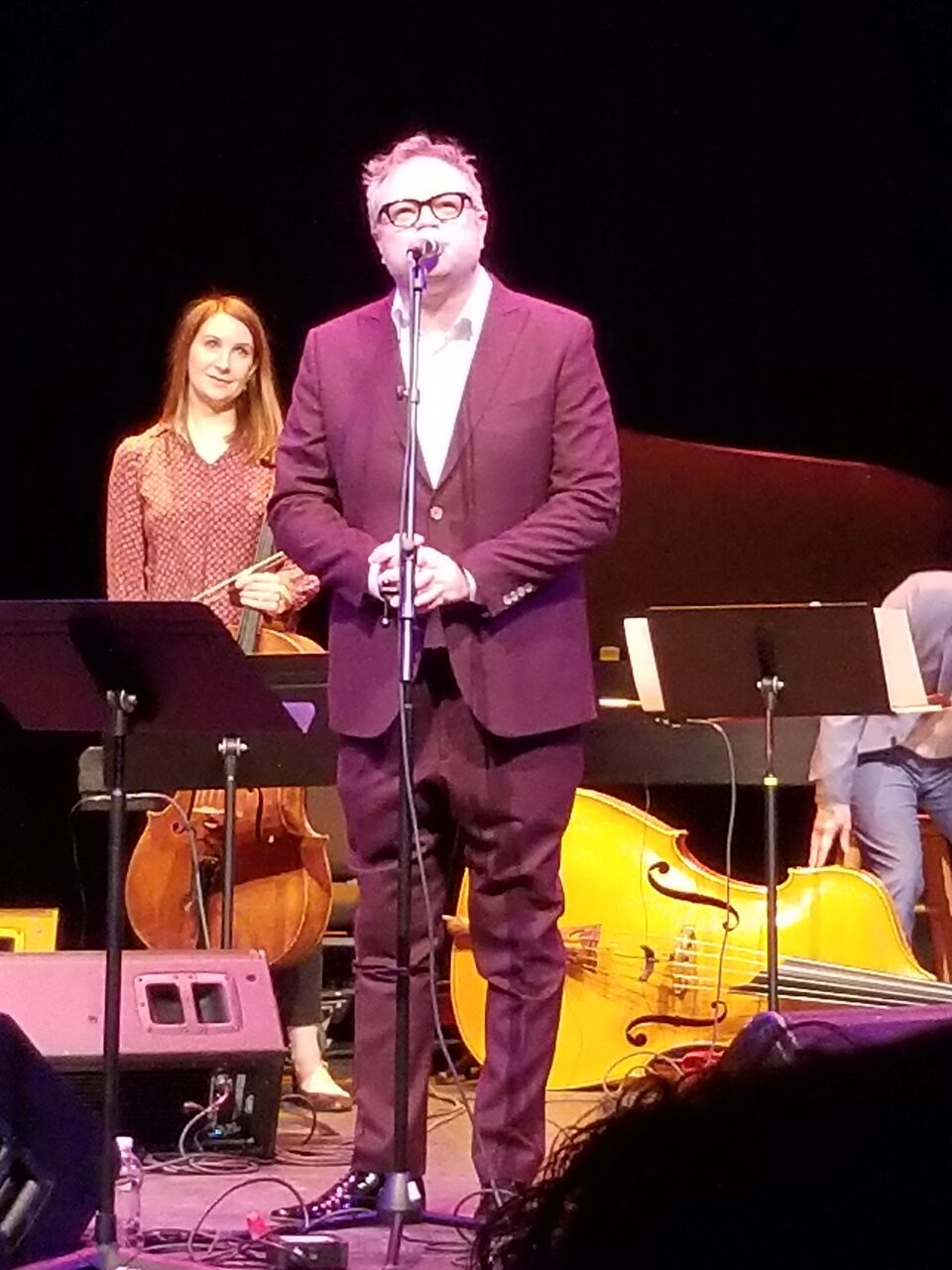 I was thrilled to see Steven Page play with Art of Time Ensemble back in  2015. When I saw that he was playing (somewhat) locally again, I was really  excited ...